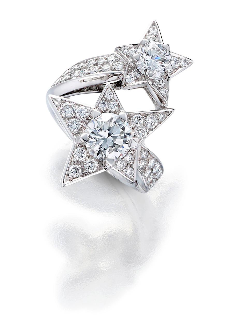A diamond 'Comète' ring, Chanel,