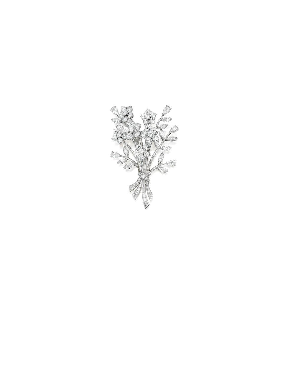 A diamond brooch, Van Cleef & Arpels,
