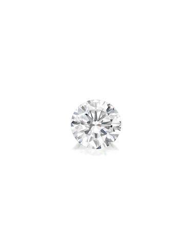 A fine unmounted diamond