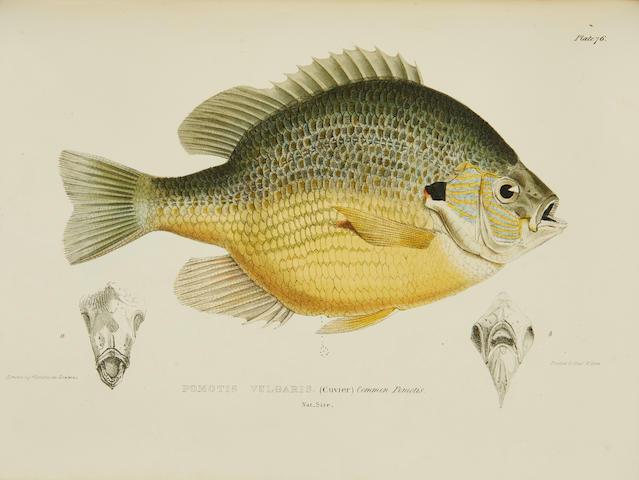 RICHARDSON, JOHN. 1787-1865. Fauna Boreali-Americana; or The Zoology of The Northern Parts of British America.... London: John Murray, Richard Bentley, and Josiah Fletcher, 1829-1837.