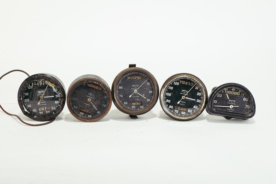 A quantity of clocks and gauges  (Qty)
