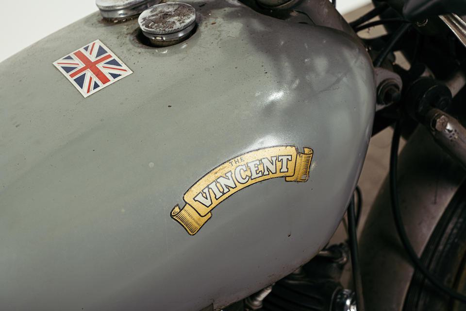 1952 Vincent 498cc Comet, Frame no. RS/1/10788 Engine no. F5AB/2A/8493