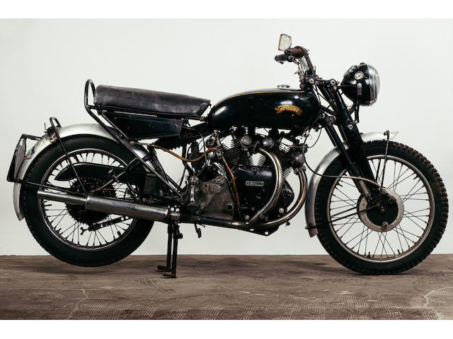 1955 Vincent 998cc Black Shadow Series D, Frame no. RD12803/B, Rear frame no. RD12803/B Engine no.  F10AB/2B/10903