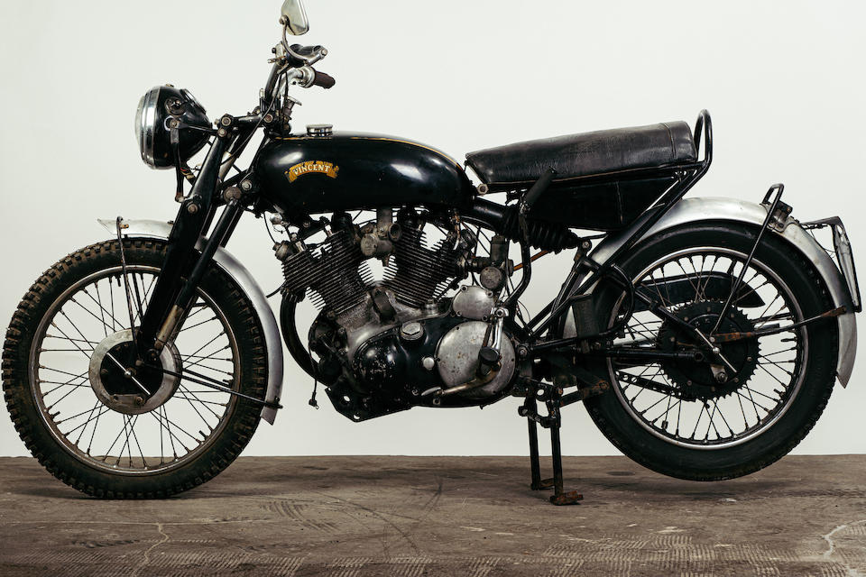 1955 Vincent 998cc Black Shadow Series D, Frame no. RD12803/B, Rear frame no. RD12803/B Engine no.  F10AB/2B/10903
