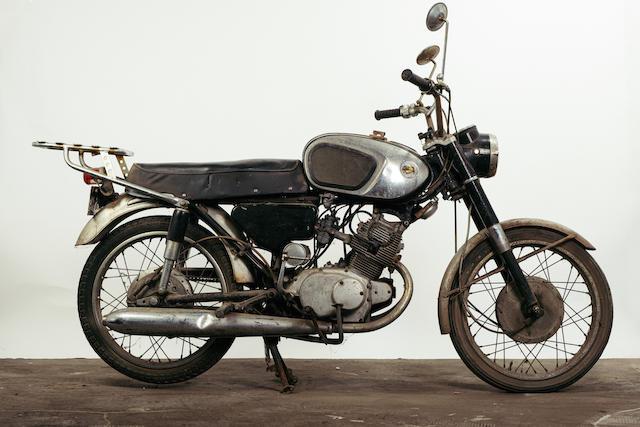 1967 Honda CB160 Frame no. B160-1046891 Engine no. B160E-1046800