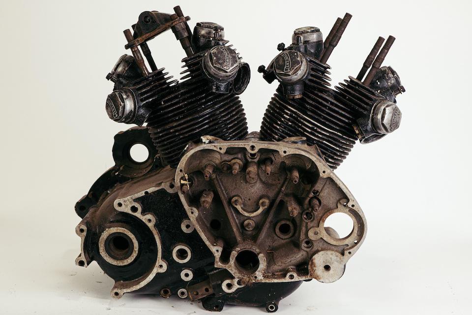 Vincent Black Shadow Project, Frame no. RC6021B  Engine no. F10AB/1B/3284