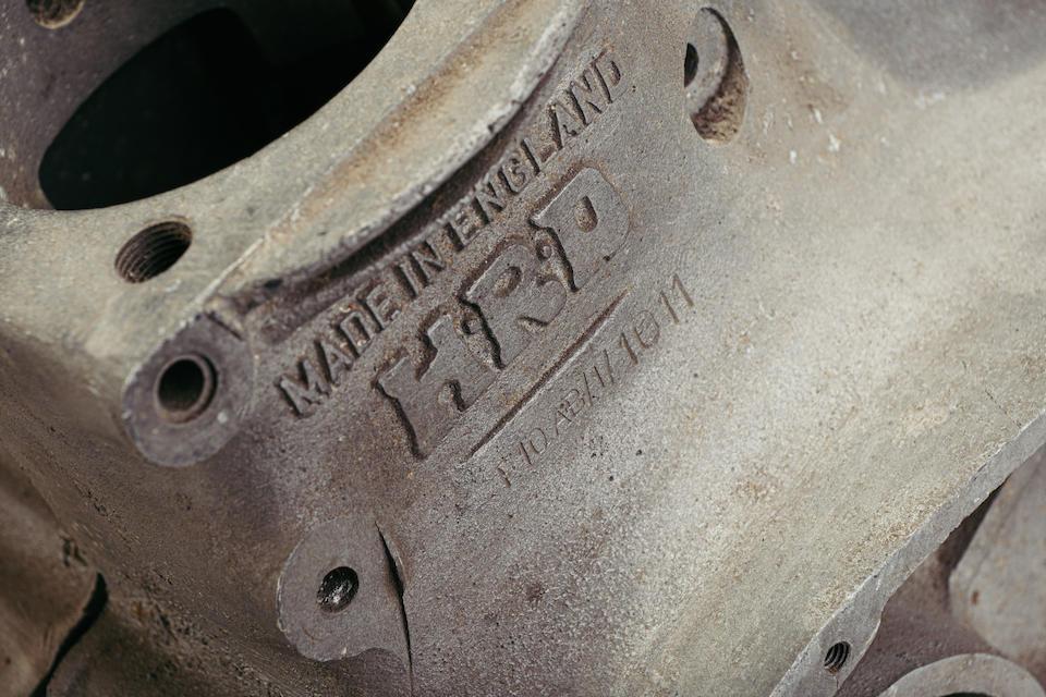 Vincent Rapide Project, Frame no. RC10738 Engine no. F10AB/1/101