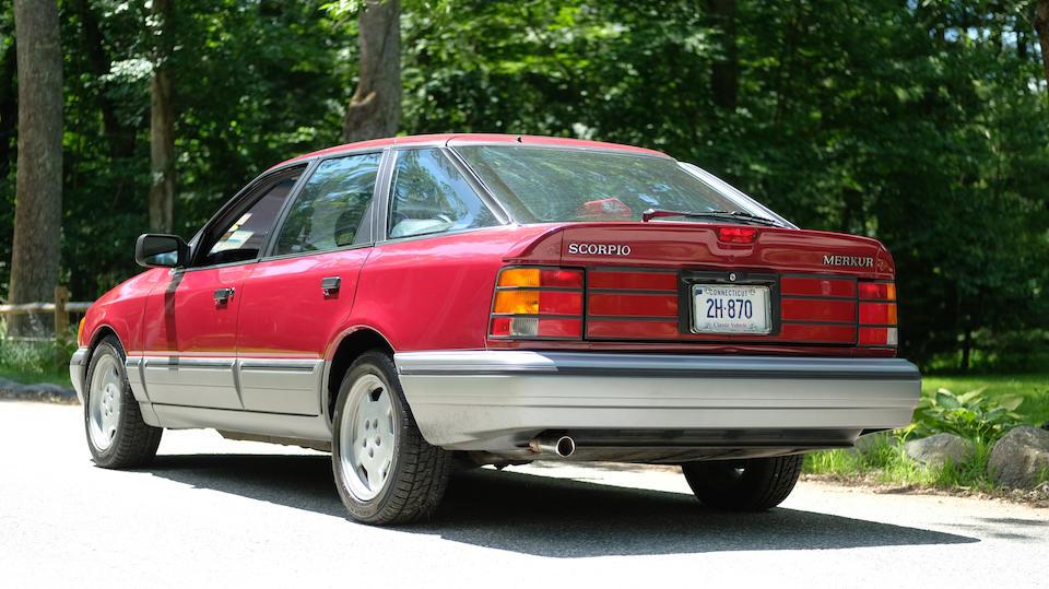 <b>1988 Merkur Scorpio</b><br />VIN. WF1BT81V3JE891164