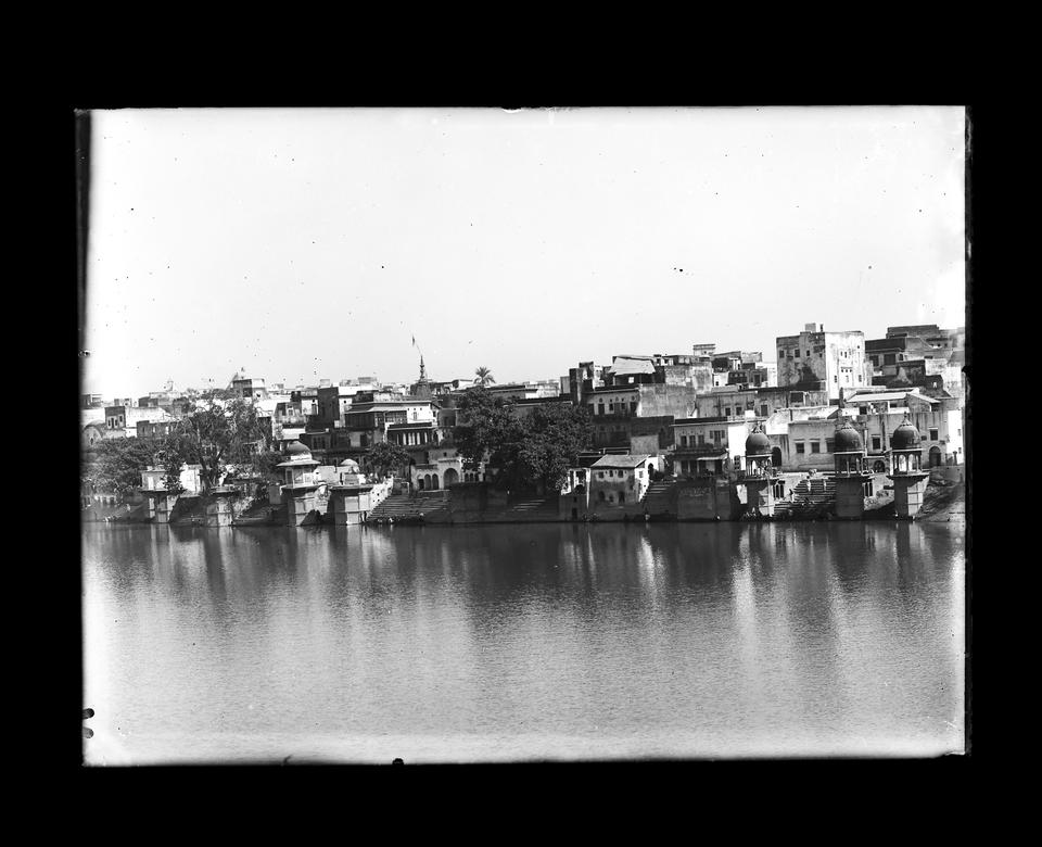 Views of India. A collection of 142 glass plate negatives of Indian views, [India: c.1900-1910]: