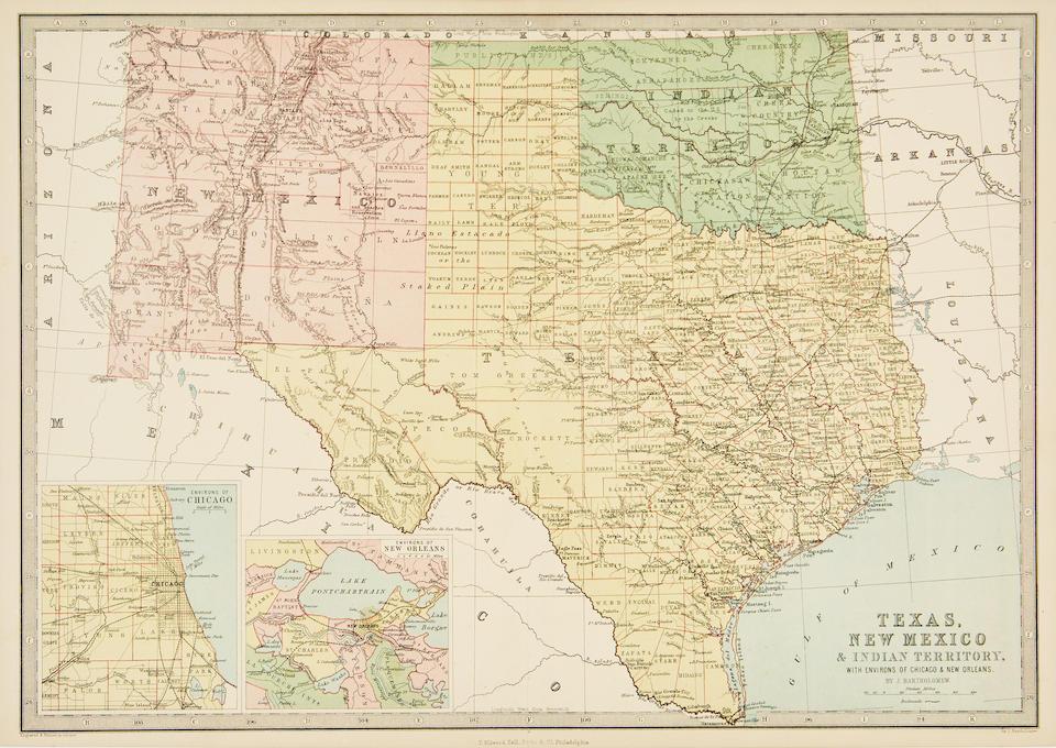 Texas. Asher and Adams. Texas. Washington: 1878