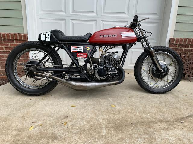 1971 Kawasaki H1 Sand Dragster Engine no. KAE37373