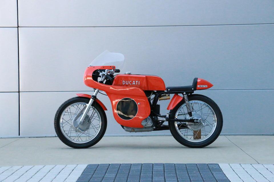 1972 Ducati 450 Desmo Racing Motorcycle Frame no. 858 Engine no. 461842