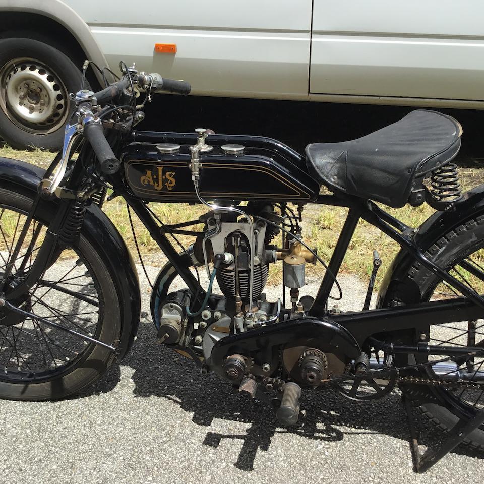 1927 AJS 349cc H6, Frame no. H10013 Engine no. H10013