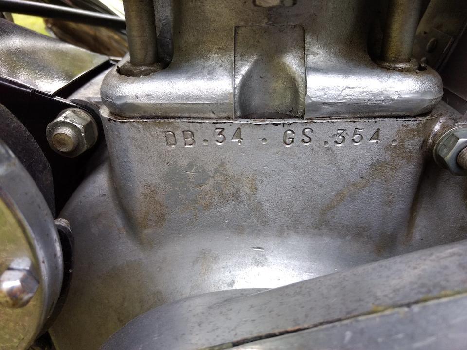 1956 BSA 499cc Gold Star Clubman Frame no. CB322892 Engine no. DB34GS354