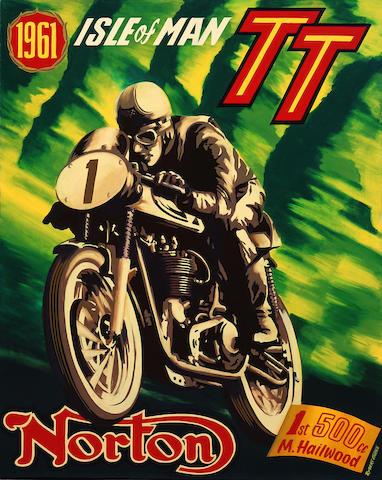 Robert Carter 'Mike Hailwood winning the TT'