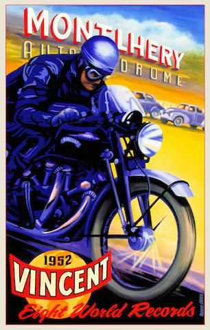 Robert Carter 'Worlds fastest motorcycle'