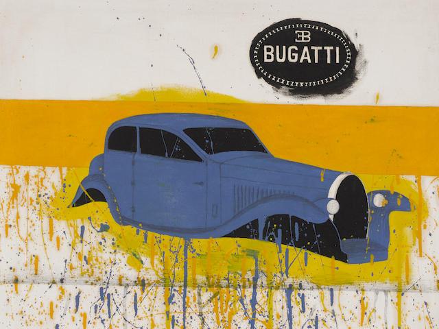 RICHARD PETTIBONE (b. 1938) Bugatti, 1963
