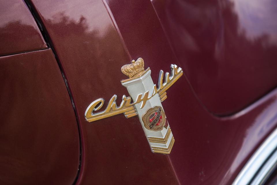 "<b>1941 Chrysler Town & Country Nine-Passenger ""Barrelback"" Station Wagon</b><br />Chassis no. 7700759"