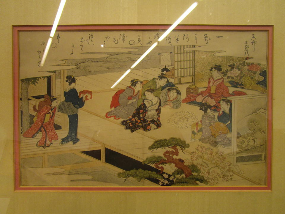 Kitagawa Utamaro (1753-1806) Edo period (1615-1868), 1789