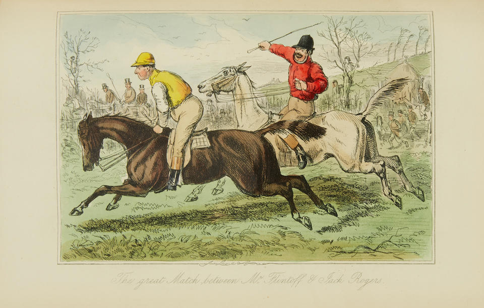 SURTEES, ROBERT SMITH. 1803-1864.  The Sporting Novels. London: Bradbury, Agnew & Co., [1920].