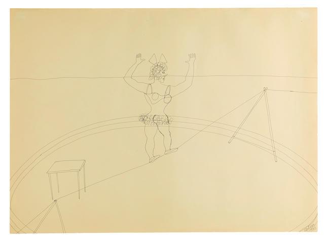Alexander Calder (American, 1898-1976) Circus Scene, 1932