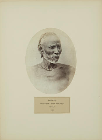 WATSON, JOHN FORBES. 1827-1892; AND JOHN WILLIAM KAYE. 1814-1876. The People of India: a Series of Photographic Illustrations, with Descriptive Letterpress, of the Races and Tribes of Hindustan. London: India Museum: 1868-1869.