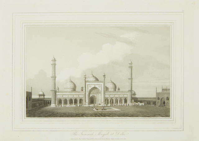 DANIELL, WILLIAM. 1767-1837; AND THOMAS DANIELL. 1749-1840. Oriental Scenery ... Views of the Architecture, Antiquities and Landscape Scenery of Hindoostan. London: Thomas and William Daniell, 1812-1816.