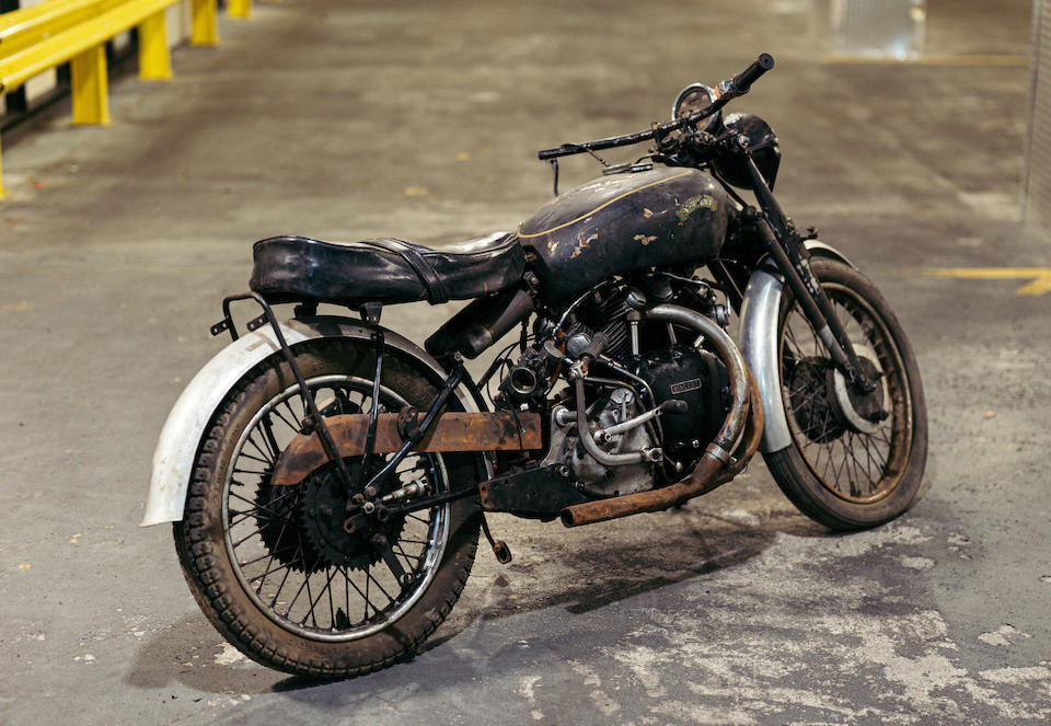 1952 Vincent 998cc Black Shadow Series C, Frame no. RC8161B, Rear frame no. RC8161B Engine no. F10AB/1B/6261