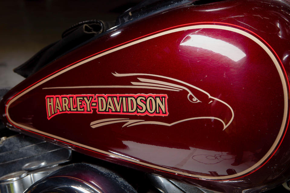 1990 Harley Davidson FXSTS Springer Softail Frame no. 1HD1BLL38LY022581