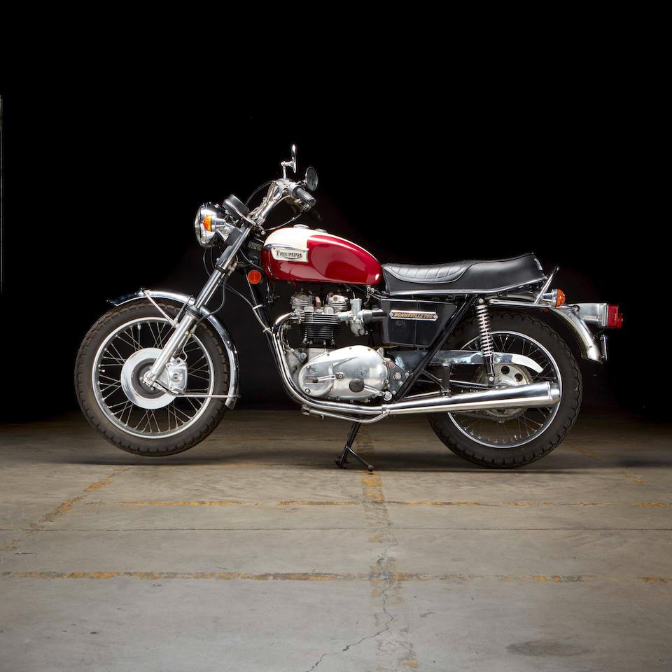 1976 Triumph 750cc T140V Bonneville Frame no. T140VXN66139 Engine no. T140VXN66139