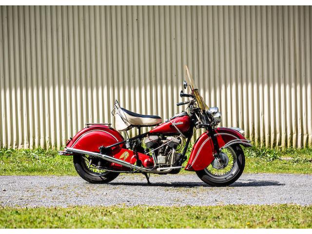 1947 Indian 74ci Chief Frame no. 3474109 Engine no. DG4109