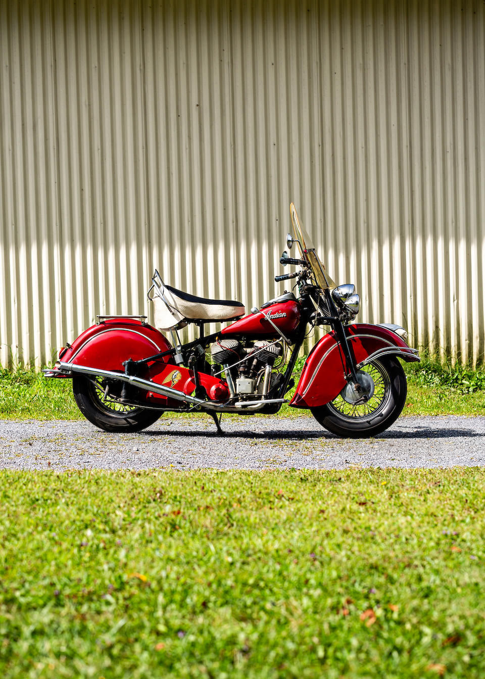 1947 Indian 74ci Chief Frame no. 3474109 Engine no. DG4109