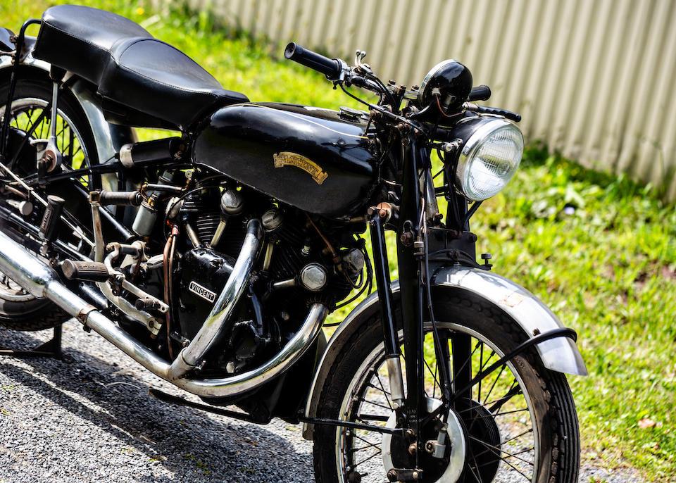1951 Vincent 998cc Black Shadow Series C Frame no. RC8030B Engine no. F10AB/1B/6130
