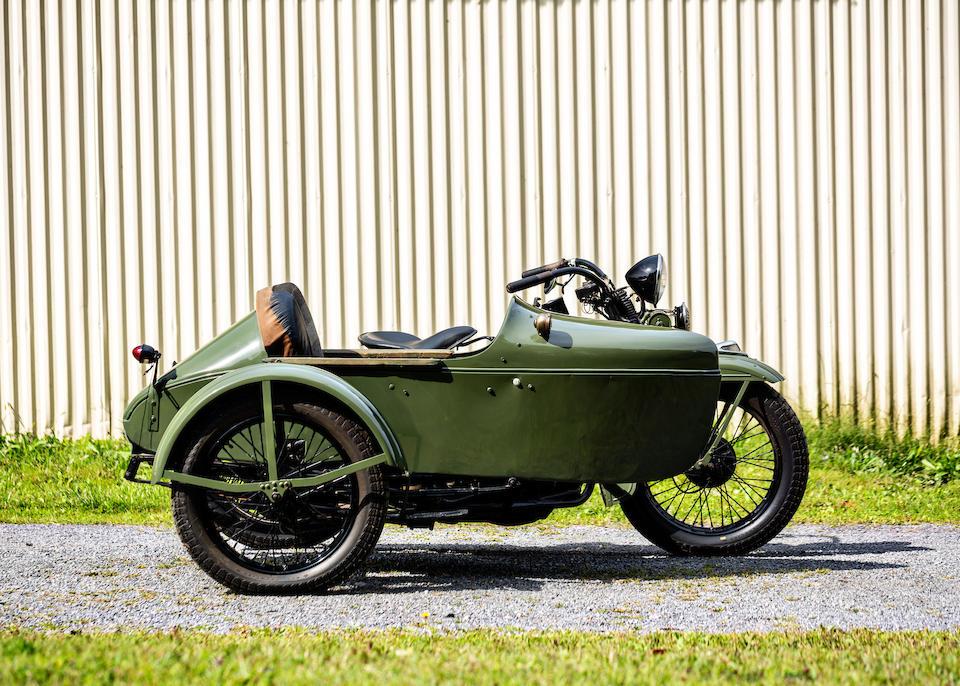 1930 Harley-Davidson VL Combination, Frame no. 3474109 Engine no. 30VL10916