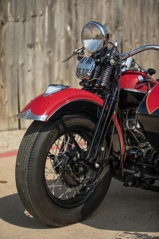 1940 Harley-Davidson WL45 Combination Frame no. ZE36T Engine no. 42WLA21669