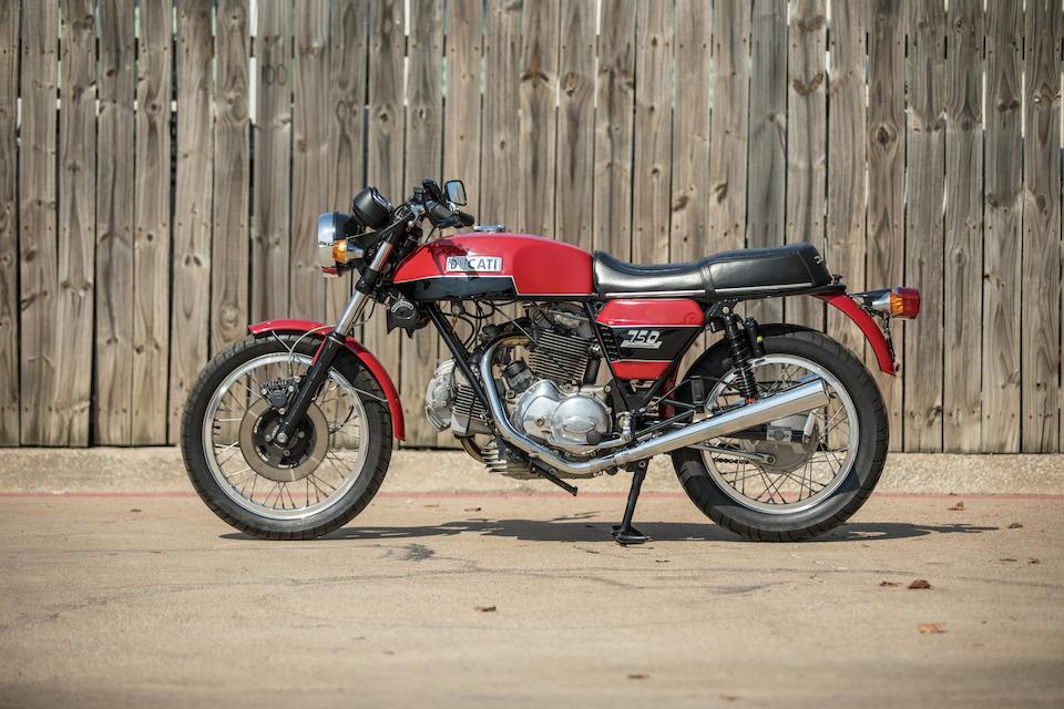 1974 Ducati 750 GT Frame no. DM750S756184 Engine no. DM750 756006