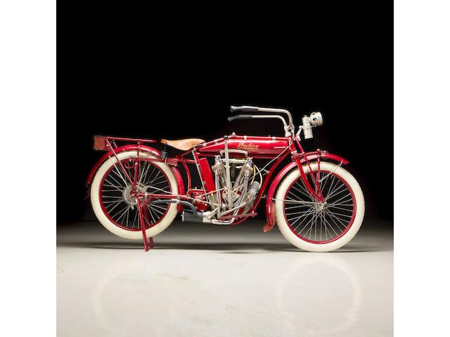 1913 Indian 4hp Model E Engine no. 75E330