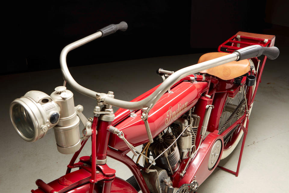 1913 Indian 4hp Model E Engine no. 75E330