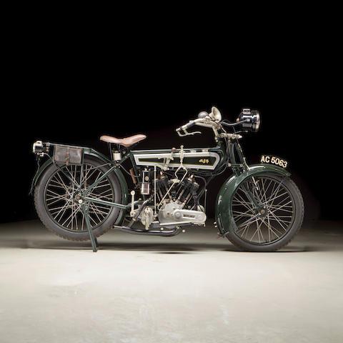 1915 AJS 749cc Model D Frame no. 1914 Engine no. 5954