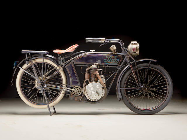 A remarkable survivor sold after 40 years of single family ownership,1913 Thor 500cc Single Engine no. 13M28