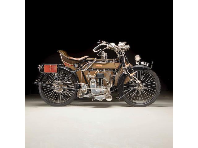 1913 James 4 1/4hp Combination Engine no. J2190
