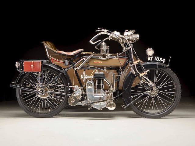 1913 James 4¼hp Combination Engine no. 2J2190