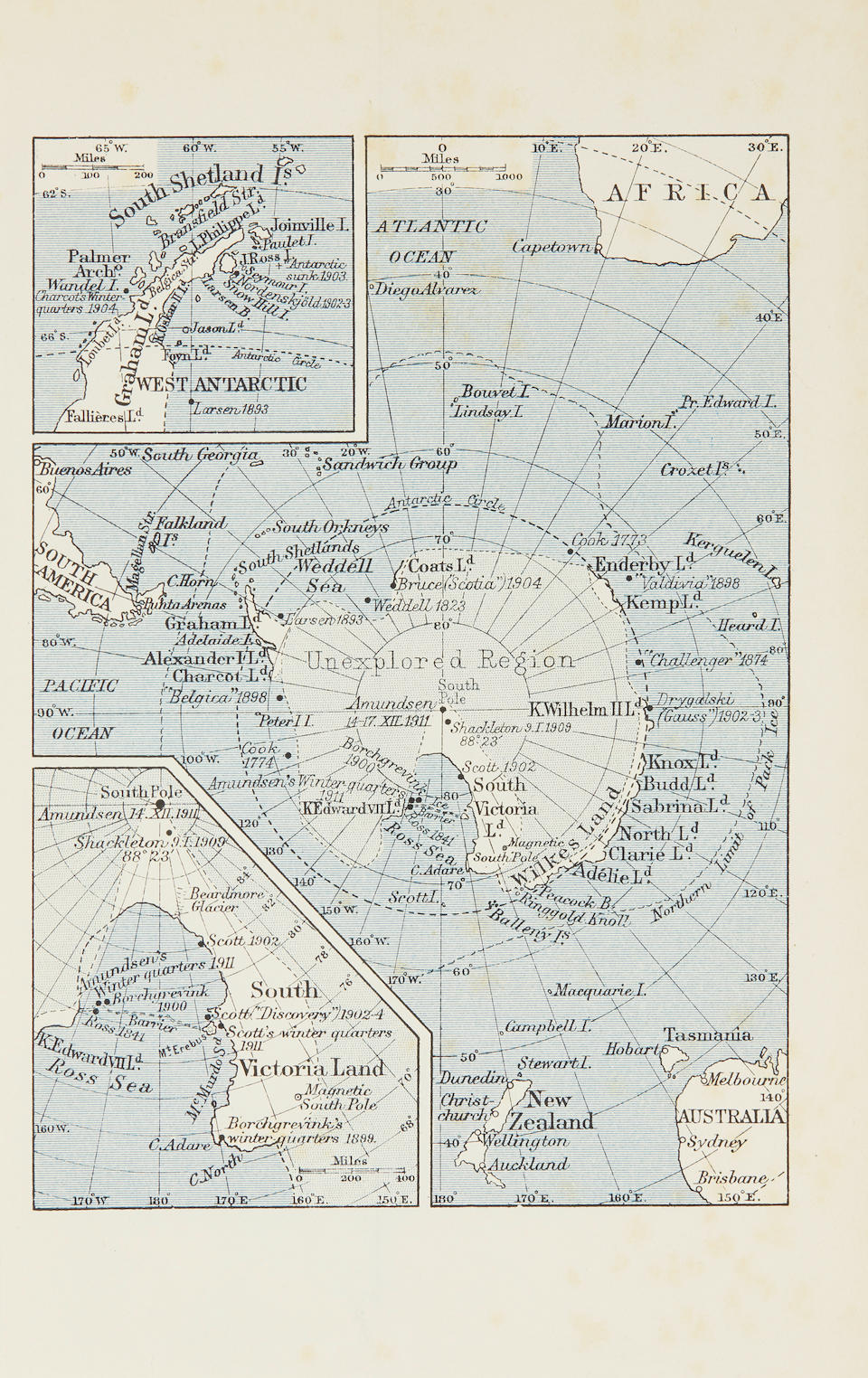 "AMUNDSEN, ROALD. 1872-1928. The South Pole. An Account of the Norwegian Antarctic Expedition in the ""Fram"" 1910-1912. London: John Murray, 1912."