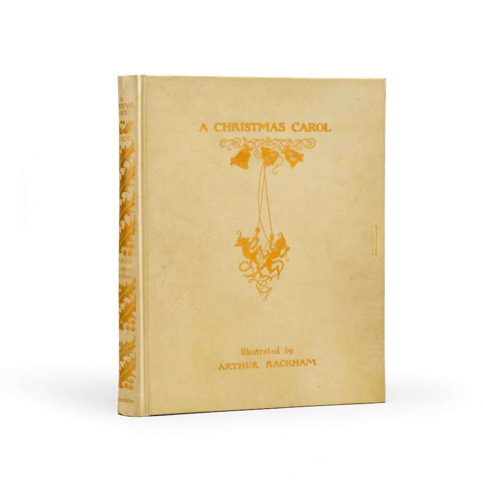 RACKHAM, ARTHUR. 1867-1939. DICKENS, CHARLES. 1812-1870. A Christmas Carol. London & Philadelphia: William Heinemann & J.B. Lippincott, [1915].