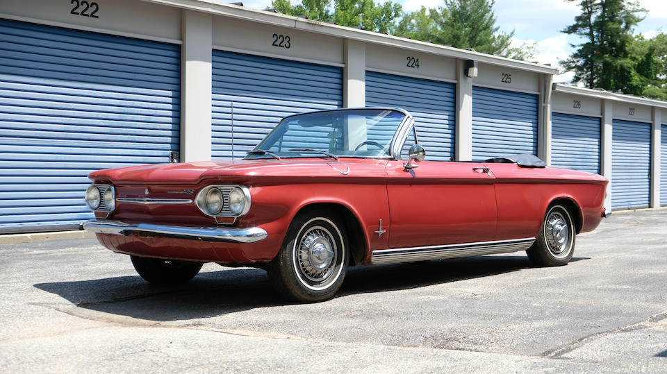 <b>1963 Chevrolet Corvair Monza Convertible</b><br />Chassis no. 30967L113615