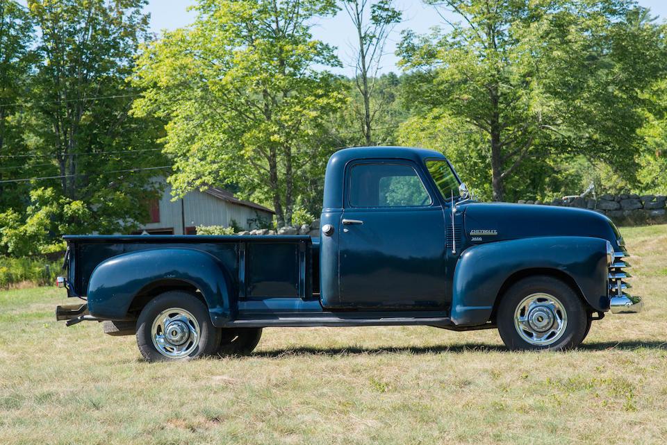 <b>1950 Chevrolet 3100 Pickup</b><br />Chassis no. 3836848