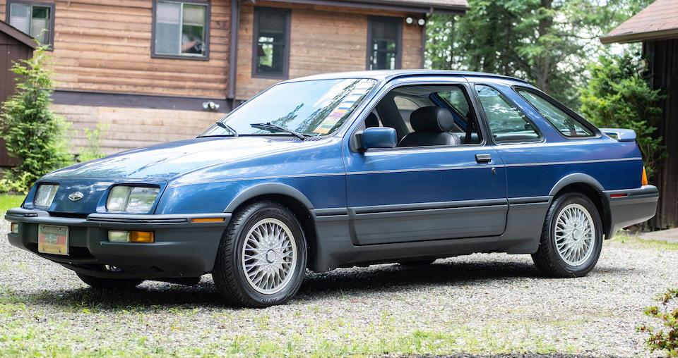 <b>1989 Merkur XR4Ti</b><br />VIN. WF1BT80W1KM612957
