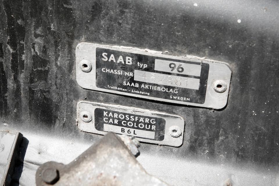 <b>1967 SAAB 96</b><br />Chassis no. 432881