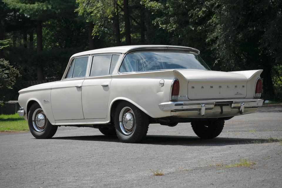 <b>1961 Rambler Classic Deluxe</b><br />Chassis no. 0561796