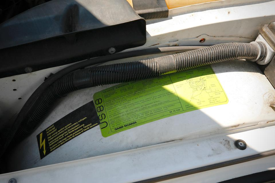 <b>1988 SAAB 900 Turbo Convertible</b><br />VIN. YS3AT76L5J7027766